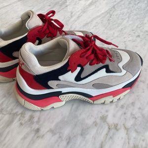 ASH Addict Sneaker Red Black White